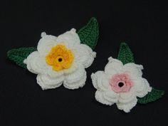 Flor de crochê de 3 camadas - Parte 2