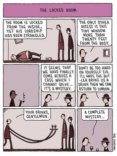 The Locked Room By tom gauld
