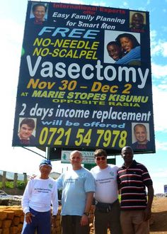 NSVI in Africa performing vasectomy procedures. Surgery, Africa, How To Plan, Day, Blog, Afro