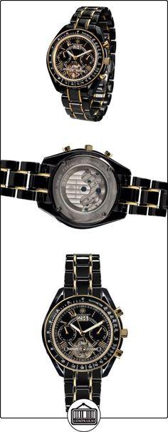 Mathis Montabon 100052 - Reloj , correa de cerámica color negro  ✿ Relojes para mujer - (Lujo) ✿