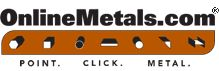 Metals for orders of every size and shape : Stainless steel, aluminum, copper, brass, cold/hot rolled steel, bronze, nickle, titanium, tool steel, magnesium, zinc, beryllium-copper, plastics, composites, interior design metal products.