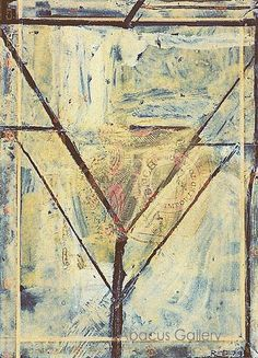Richard Diebenkorn - Cigar Box Lid No 5 1979