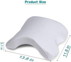 &TOP QUALITY ENVIRONMENT MATERIAL - ice silk cover + Memory Foam, High density slow rebound inner core, zero pressure to comfortable relaxation. Removable and washable ice silk cotton Cover for a super comfortable. Spooning Pillow, Cuddle Pillow, Couple Sleeping, U Shaped Pillow, Big Spoon, Sitting Posture, Side Sleeper Pillow, Inner Core, Foam Pillows