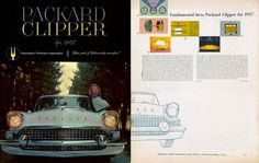 1957 Packard brochure cover