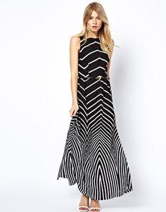 Image 1 ofOasis Stripe Maxi Dress
