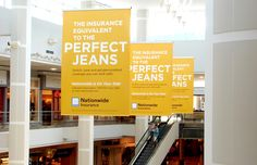Image of mall advertising banners used in a national campaign Mockup, Banners, Mall, Campaign, Advertising, House, Free, Ideas, Home