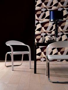 Fettuccini lounge armchair covered with full grain hide leather Designer: Vladimir Kagan