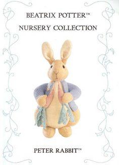 вязаная игрушка Кролик Питер