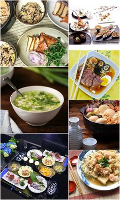 Japanese recipes and Japanese food