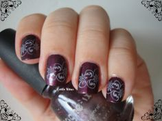 Estilo Uñas: Stamped Nails