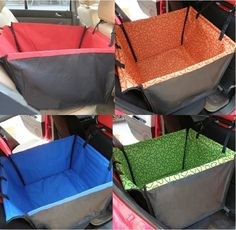 Car Pet Dog Puppy Cat Hammock Seat Cover Carrier Protector Blanket Cushion Bed