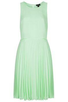 Midi Pleat Overlay Dress