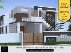 House Plans Contemporary Front Elevation 56 New Ideas House Front Wall Design, Single Floor House Design, House Outside Design, Village House Design, Bungalow House Design, Small House Design, Modern House Design, Facade Design, Exterior Design