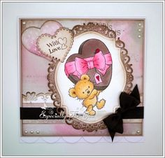 Especially For You: Little Love Bear for The Stamp Basket