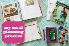 Meal Planning ....  Tutorials and Printables  - Uncommon Designs...