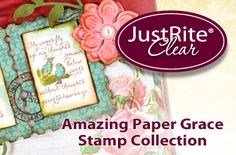 Exclusive JustRite Stamp and JustRite Custom Dies in the Sept Kit.