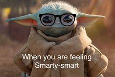 Yoda Funny, Yoda Meme, Funny Animal Memes, Funny Jokes, Hilarious, Funny Video Memes, Really Funny Memes, Funny Stuff, Minion Baby