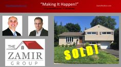 SOLD! 41-17 Williams St in Fair Lawn has happy new homeowners thanks to Ron Lugashi! Congratulations and enjoy your new home