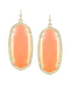 Elle Earrings in Iridescent Tangerine - Kendra Scott Jewelry. Coming soon!