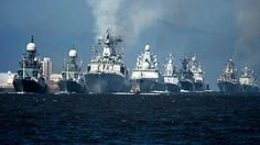 100+ military vessels take part in Russian Navy Day celebrations, incl in Syrian port (PHOTOS) https://tmbw.news/100-military-vessels-take-part-in-russian-navy-day-celebrations-incl-in-syrian-port-photos  Traditional Russian Navy Day celebrations have gone international, with parades now spanning not only 9 time zones within the country, but also having been organized in the Syrian port of Tartus.Russia's Navy Day celebrations were staged for the first time in Syria this year. Six Russian…