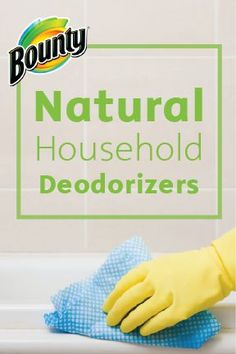 Keep your home smelling nice and fresh for the holidays so you can be ready to host friends or family at a moment's notice. These surprising deodorizers from Bounty Paper Towels are completely natural, and you probably already have them laying around, making your busy life one step easier!