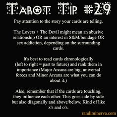 Tarot Tip #29: Storytelling