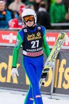 Manuel Poppinger beim FIS Skispringen Weltcup in Engelberg / Schweiz | Fotograf Kassel