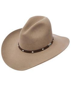 c416c766aed5c Stetson 4X Silver Mine Buffalo Felt Cowboy Hat