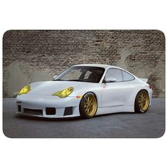 The Porsche 911 is a truly a race car you can drive on the street. It's distinctive Porsche styling is backed up by incredible race car performance. Porsche 996 Turbo, Porsche 912, 911 Turbo, Porsche Carrera, Porsche Cars, 996 4s, Porsche Replica, Custom Porsche, Kdf Wagen