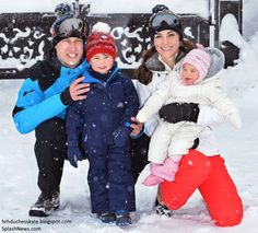 Official photographs of the Cambridge family on their first vacation as a family of four to the French Alps. 3/7/16