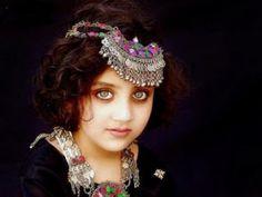 une belle jeune bohémienne