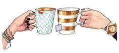 Coffee-tea with friends
