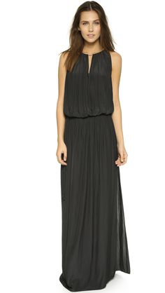Ramy Brook Lindsay Maxi Dress - Black | SHOPBOP.COM created by #ShoppingIS