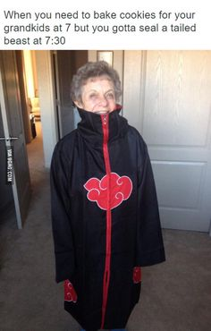 Quite possibly the most badass grandma on the block the best cosplayer