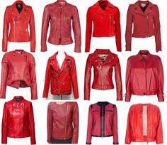 Rode Leren Dames Jas.De 13 Beste Afbeelding Van Leren Jas Leather Jackets Blouse En