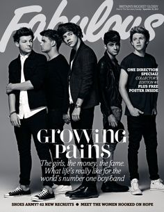 One Direction covers Fabulous Magazine September 2012