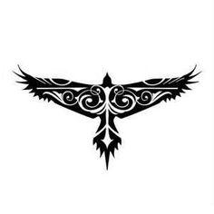 13 Latest Hawk Tattoo Designs And Ideas Tribal Tattoos, Eagle Tattoos, Celtic Tattoos, Viking Tattoos, Trendy Tattoos, Body Art Tattoos, New Tattoos, Celtic Raven Tattoo, Tribal Eagle Tattoo