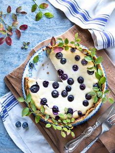 Vegaaninen juustokakku | Reseptit | Kinuskikissa Vegan Cheesecake, Best Vegan Recipes, Healthy Cake, Vegan Vegetarian, Vegan Food, Nom Nom, Recipies, Baking, Ethnic Recipes