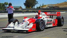 Helio Castroneves Penske Racing 2009