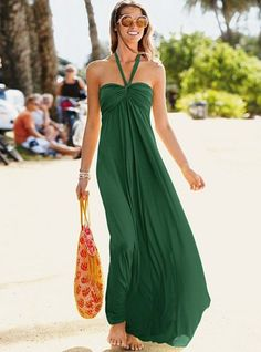 green and a maxi! two of my favorite things!