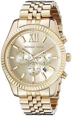 Michael Kors Lexington Wrist Watch for Men 59925a754f