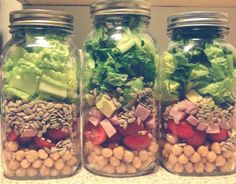 Mason Jar Salads - My Newest Obsession