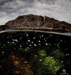 İki Dünya Arasında Çekilmiş Nefes Kesen Fotoğraf
