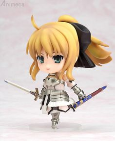FIGURA SABER LILY NENDOROID Fate/unlimited codes