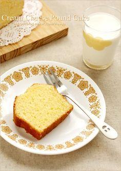 크림치즈 파운드 케이크 : 네이버 블로그 Cream Cheese Pound Cake, French Toast, Cheesecake, Pudding, Breakfast, Desserts, Food, Cheesecake Cake, Breakfast Cafe
