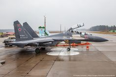 Visiting an airbase in Russia