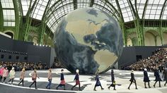 Chanel takes on the world in the Fall 2013 show at Paris's Grand Palais   - HarpersBAZAAR.com