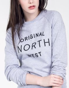 Sorry, Kimye, we were here first! The O.G. North West Crew by Wildfang.