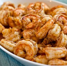 Ginger, Garlic & Chili Shrimp.......... (for the Brine) kosher salt, sugar, chili powder, water, 2 lbs shrimp. (for cooking) vegetable oil, fresh ginger, garlic cloves, sugar