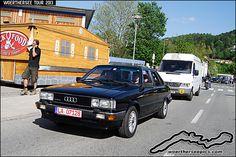 Audi 80 quattro | Woerthersee Tour 2013 - www.woertherseepic… | Retro-Motoring & WoertherseePics | Flickr